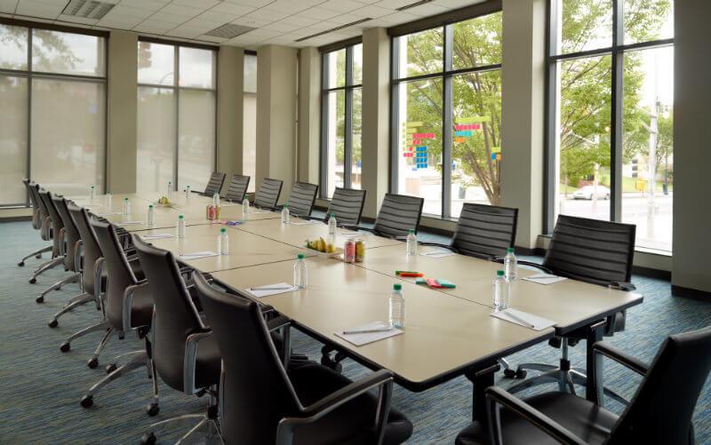 corner room meeting